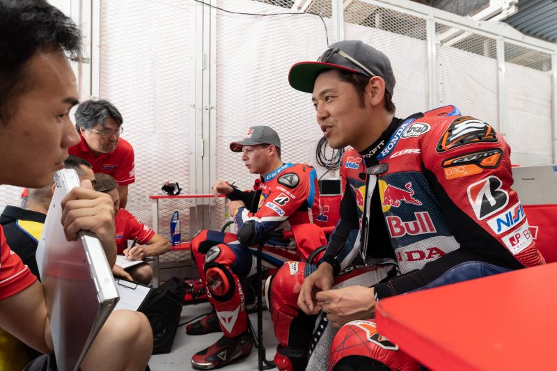 Suzuka 8 Hours – Red Bull Honda Stays On Top with Fastest Time in Joint Test Day